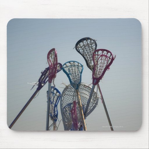 Details of Lacrosse game Mouse Pad