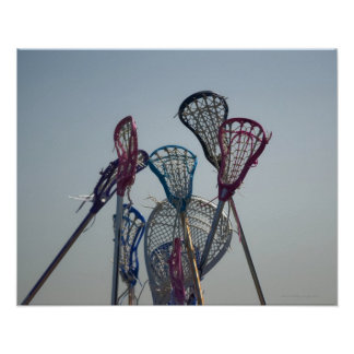 Details of Lacrosse game Poster