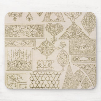 Details of ornamentation for arms, borders, manusc mouse pad