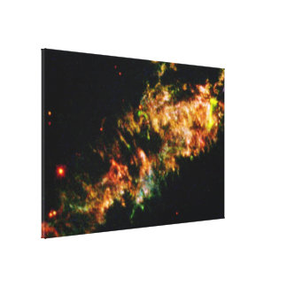 Details of Supernova Remnant Cassiopeia A Canvas Print