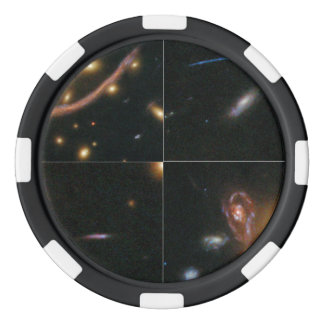 Details of the Hubble Abell 370 Image Set Of Poker Chips