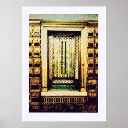 'Detalle arquitectónico 4d' Poster