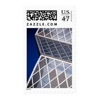 Detalle arquitectónico abstracto de la Seattle Sello Postal