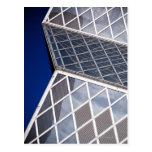 Detalle arquitectónico abstracto de la Seattle Tarjeta Postal