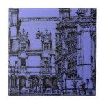 Detalle arquitectónico azulejo