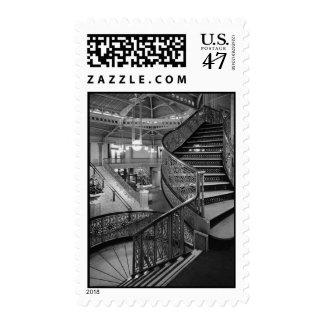 Detalle arquitectónico Chicago de la colonia de Timbre Postal