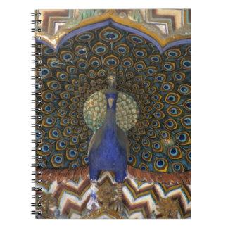 Detalle arquitectónico de la puerta del pavo real libros de apuntes
