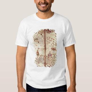 Detalle de Asia del catalán Camisas