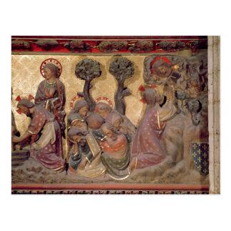 Detalle de Cristo que lava a los pies de los apóst Tarjetas Postales