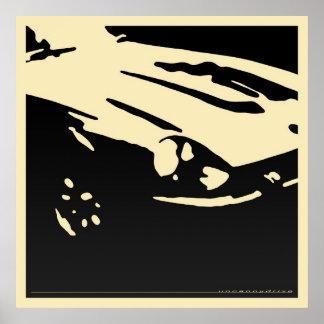 Detalle de Datsun 240Z - ennegrézcase en el poster