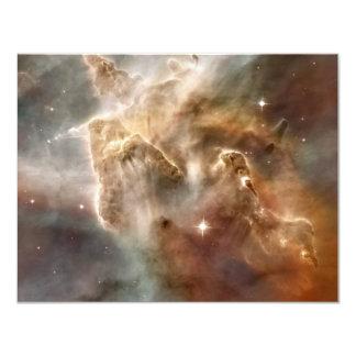 """Detalle de Estrella-Formación de la región de la Invitación 4.25"""" X 5.5"""""""