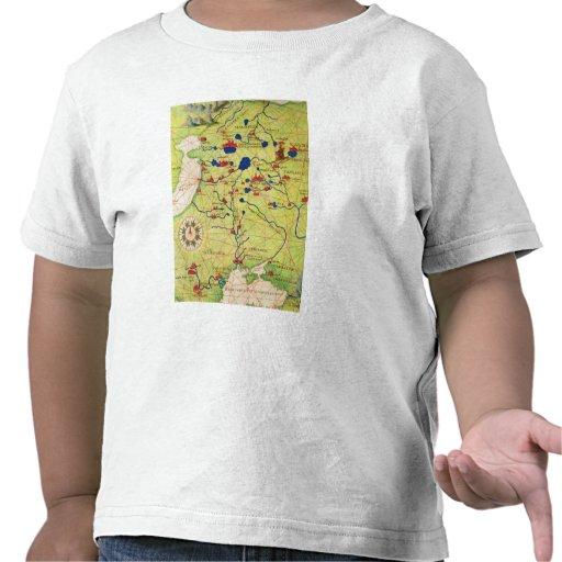 Detalle de Europa y de Asia Central Camiseta
