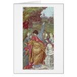 Detalle de la ascensión de Filippino Lippi Tarjeton