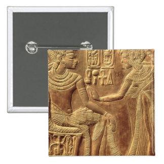 Detalle de la capilla de oro de Tutankhamun Pin