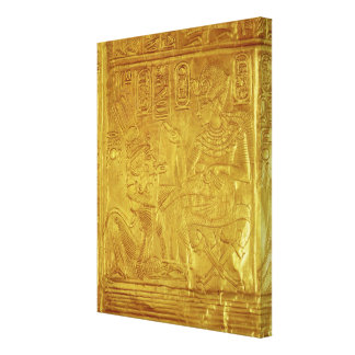 Detalle de la capilla de oro lona envuelta para galerias
