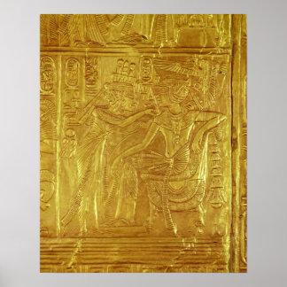 Detalle de la capilla de oro impresiones