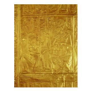 Detalle de la capilla de oro postales