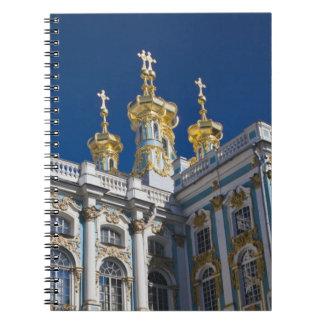 Detalle de la capilla del palacio de Catherine Spiral Notebook