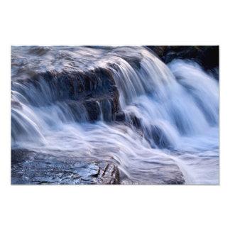 Detalle de la cascada, papada del este, Keld Fotografía
