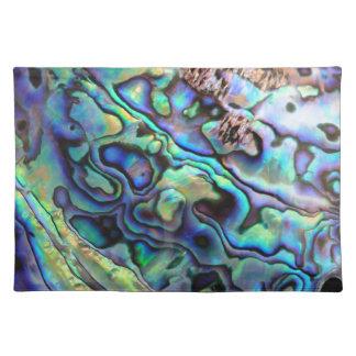 Detalle de la cáscara del olmo de Paua Manteles