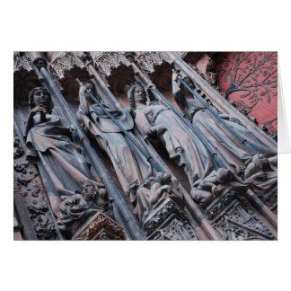 Detalle de la catedral de Estrasburgo Tarjeta Pequeña