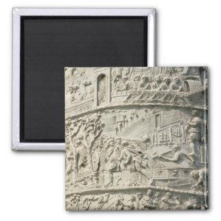 Detalle de la columna de Trajan Imán Cuadrado