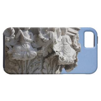 Detalle de la columna en el palacio Venecia Italia Funda Para iPhone SE/5/5s