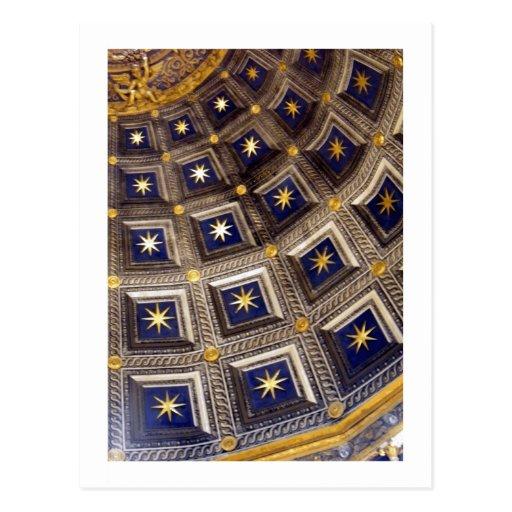 Detalle de la cúpula tarjetas postales