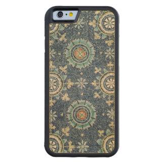 Detalle de la decoración floral de la cámara funda de iPhone 6 bumper arce