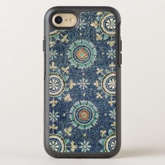Detalle de la decoración floral de la cámara funda OtterBox symmetry para iPhone 7