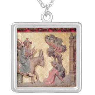 Detalle de la entrada de Cristo en Jerusalén Collar Personalizado