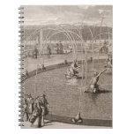 Detalle de la fuente de Diana y de Apolo en Versai Cuadernos