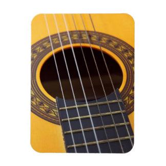 Detalle de la guitarra acústica imán foto rectangular