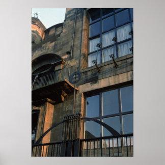 Detalle de la industria siderúrgica del Fa�ade del Posters