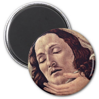 Detalle de la lamentación de Botticelli Sandro Iman De Frigorífico