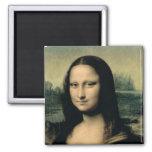 Detalle de la Mona Lisa, c.1503-6 Iman De Nevera