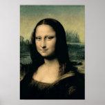 Detalle de la Mona Lisa, c.1503-6 Poster