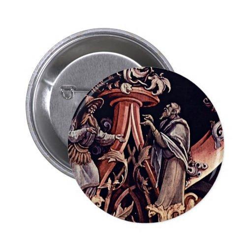 Detalle de la natividad de Grünewald Mathis Gothar Pin