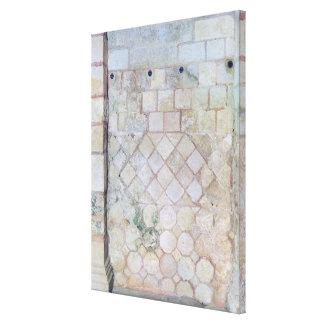 Detalle de la pared de la cripta de San Pablo Impresiones En Lona Estiradas