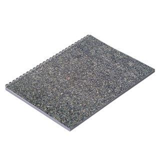 Detalle de la textura de la carretera de asfalto libros de apuntes