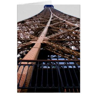 Detalle de la torre Eiffel Tarjetón