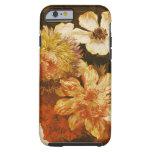 Detalle de las flores (aceite en lona) funda resistente iPhone 6