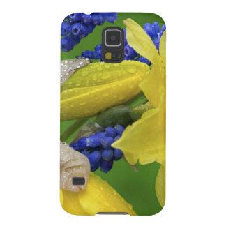 Detalle de las flores del narciso y del jacinto. C Carcasa Para Galaxy S5