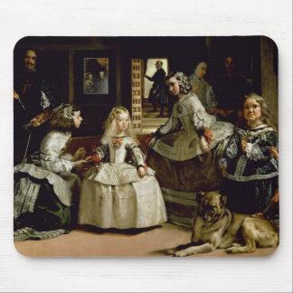 Detalle de Las Meninas de la representación de la  Tapete De Raton