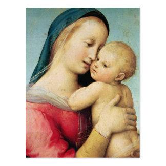 """Detalle de los """"tempos"""" Madonna, 1508 Tarjetas Postales"""
