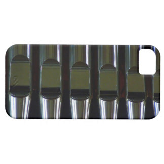 Detalle de los tubos de órgano iPhone 5 protectores