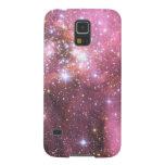 Detalle de NGC 346 en rosa Fundas De Galaxy S5