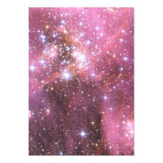 Detalle de NGC 346 en rosa Tarjetas De Visita Grandes