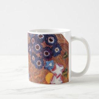 Detalle de Nouveau WaterSnakes del arte de Klimt Taza De Café