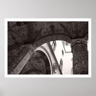 Detalle de Palazzo Vecchio Impresiones